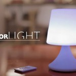 La lampe-Enceinte ColorLight par Colorblock