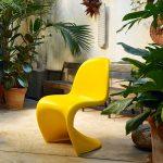 PANTON CHAIR : la chaise qui n'est pas prête de faire banquette...