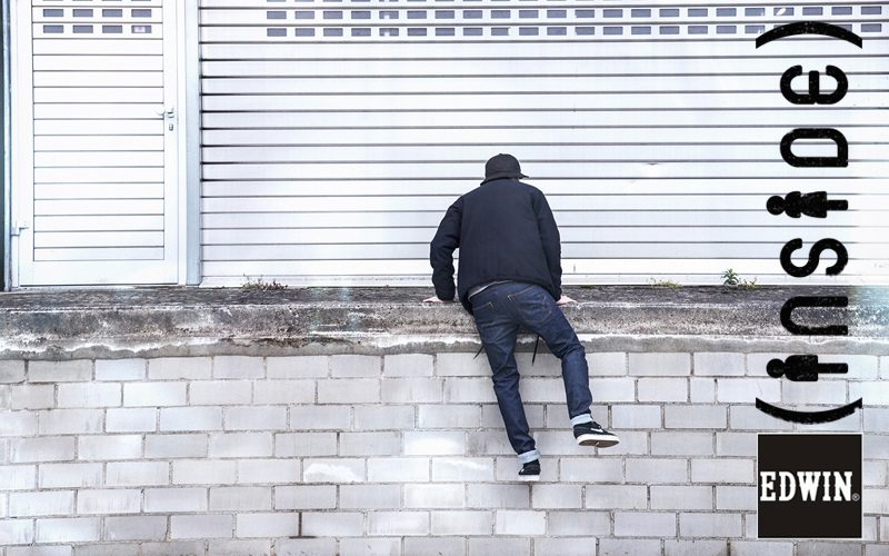 Faites le mur en EDWIN...