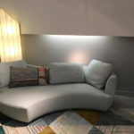 "Grand Canapé 3 Places arrondi ""DIGITAL"" design Gabriele Assmann & Alfred Kleene"