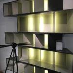 """Bibliothèque """"Trinta"""" design Fabrice Berrux"""