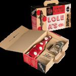 Une Malette pratique contenant une bouteille LOLEA Nº. 1 et une jolie JARRE maison pour en profiter partout.
