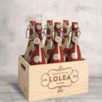 NEW LOLEA MINI Sangria artisanale réalisée à partir de vin rouge (cépages cabernet sauvignon et Tempranillo), de jus d'orange et de citron naturel ainsi qu'une pointe de cannelle, Lolea Nº1, et Lolea Nº2 réalisée à partir de vin blanc (cépages Macabeo et Chardonnay), de jus d'orange et de citron naturel ainsi qu'une pointe de vanille.