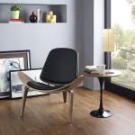 Fauteuil Shell Chair, design Hans J. Wegner : Aérienne et belle... et réciproquement !
